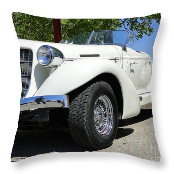 1935 Auburn 851 BoatTail Speedster Throw Pillow by Al Bourassa