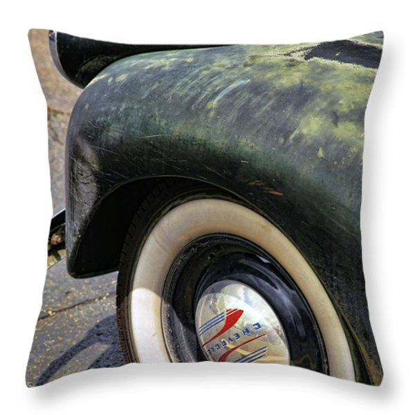 1946 Chevy Pick Up Throw Pillow by Gordon Dean II