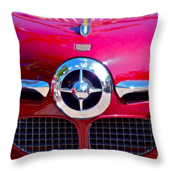 1950 Studebaker Champion Throw Pillow by Karon Melillo DeVega