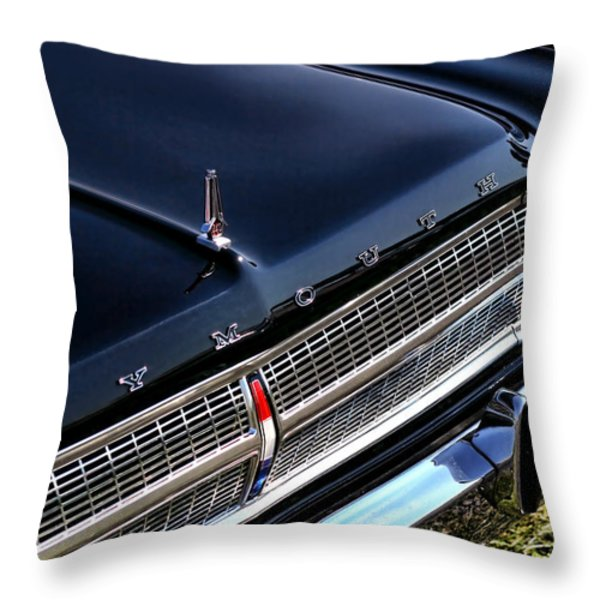 1965 Plymouth Satellite 440 Throw Pillow by Gordon Dean II