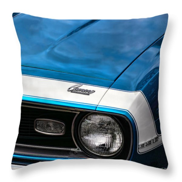 1968 Chevy Camaro Ss 396 Throw Pillow by Gordon Dean II
