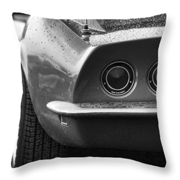 1969 Chevrolet Corvette Stingray Throw Pillow by Gordon Dean II