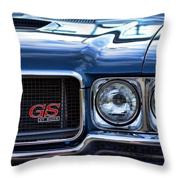 1970 Buick GS 455 Throw Pillow by Gordon Dean II