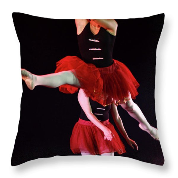 ballet performance  Throw Pillow by Chen Leopold