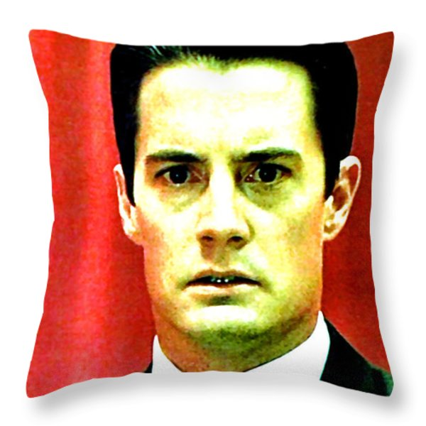 Dont Take The Ring Laura . . . Throw Pillow by Luis Ludzska