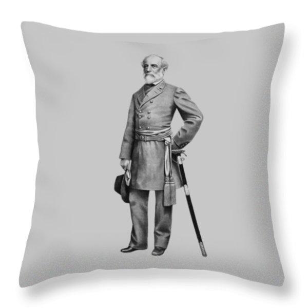 General Robert E. Lee Throw Pillow by War Is Hell Store
