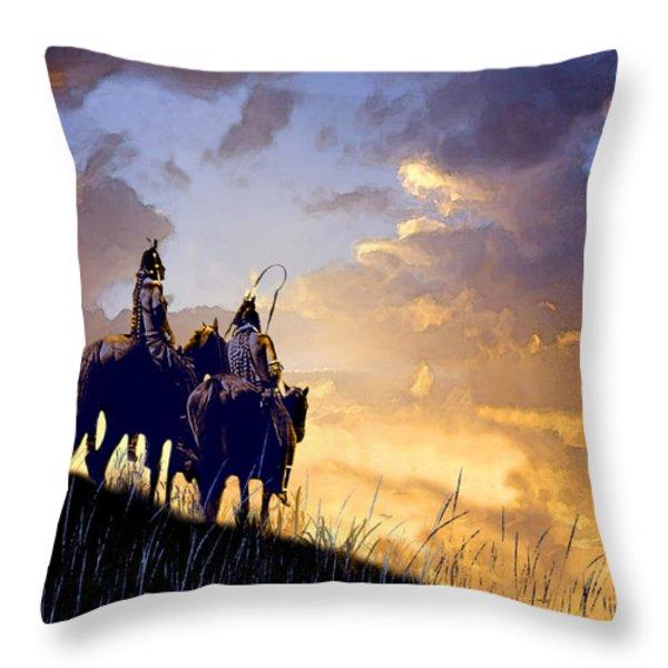 Going Home Throw Pillow by Paul Sachtleben