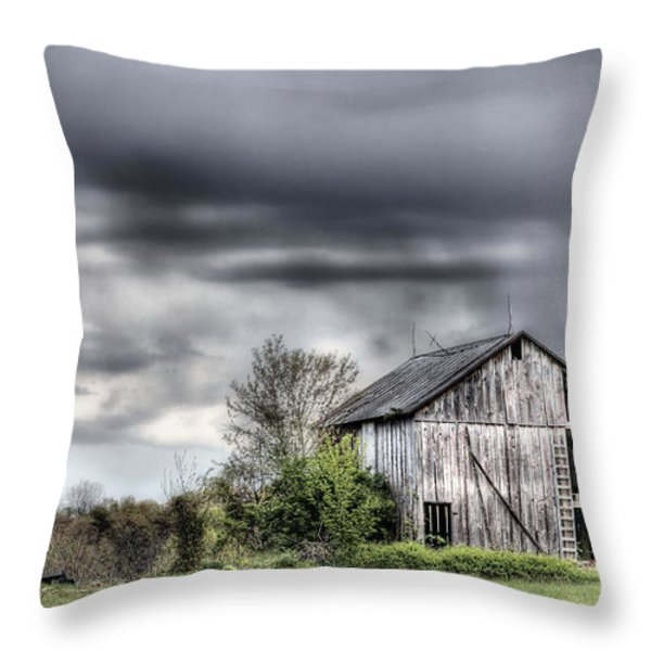 Ominous  Throw Pillow by JC Findley