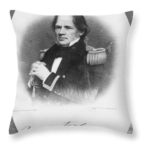 Matthew Fontaine Maury Throw Pillow by Granger