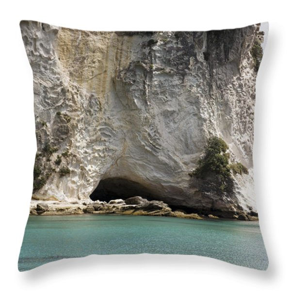 Stingray Cove Throw Pillow by Himani - Printscapes