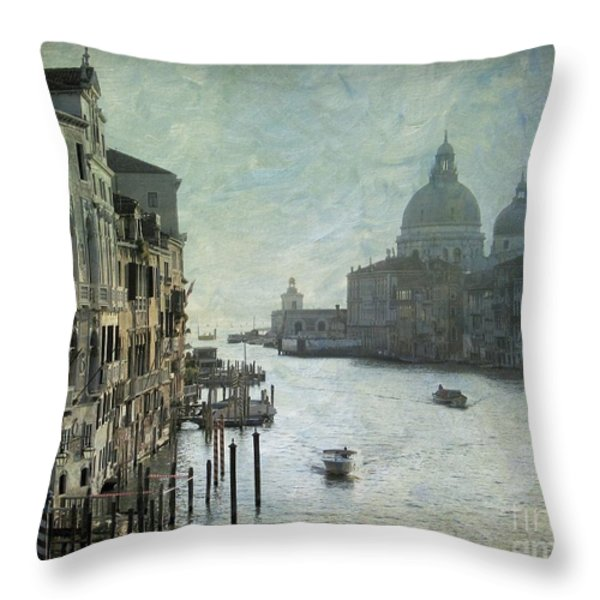 Venice Throw Pillow by Bernard Jaubert