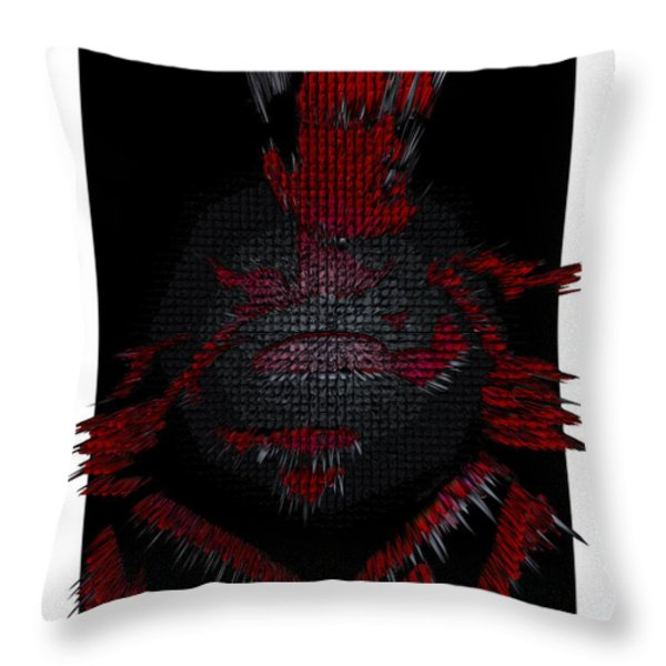 3d Superman After Hours Throw Pillow by Robert Margetts