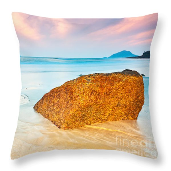 Sunrise Throw Pillow by MotHaiBaPhoto Prints