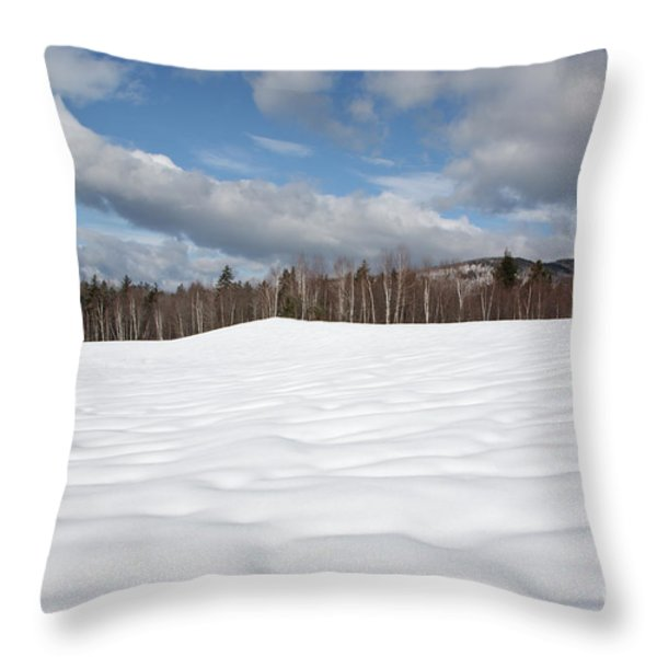 Kancamagus Highway - White Mountains New Hampshire Usa Throw Pillow by Erin Paul Donovan