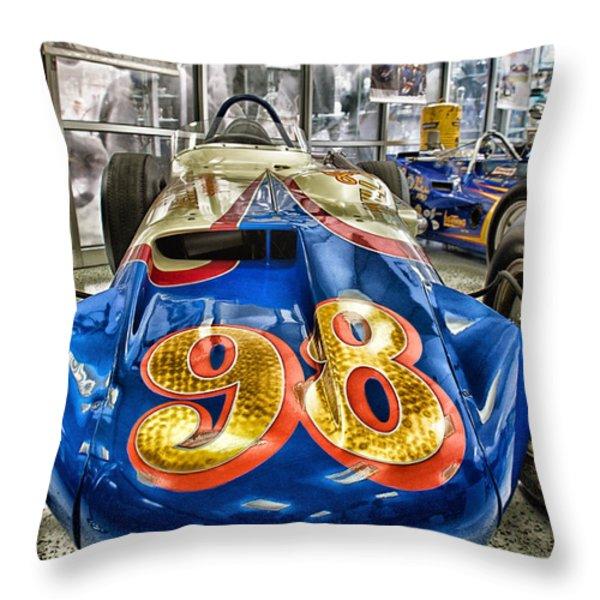 98 Throw Pillow by Lauri Novak