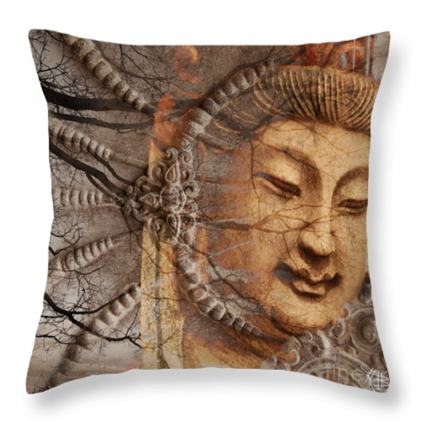 A Cry Is Heard Throw Pillow by Christopher Beikmann