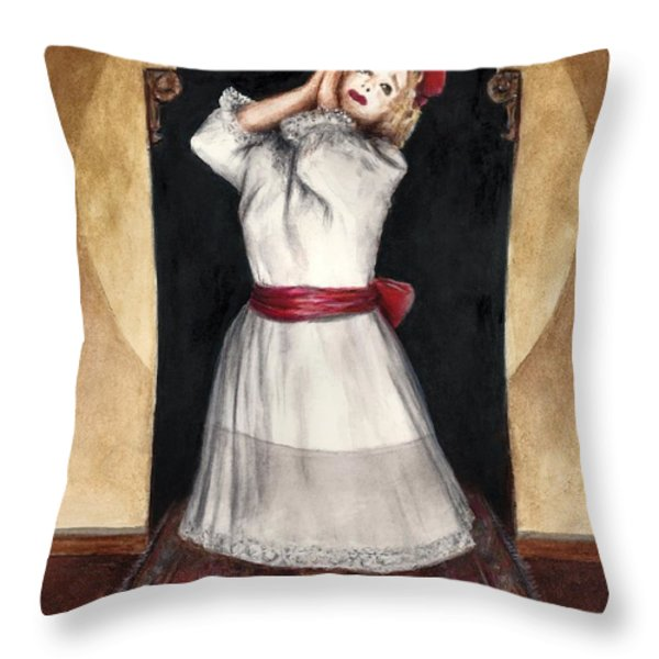 A Letter To Daddy Throw Pillow by Bruce Lennon