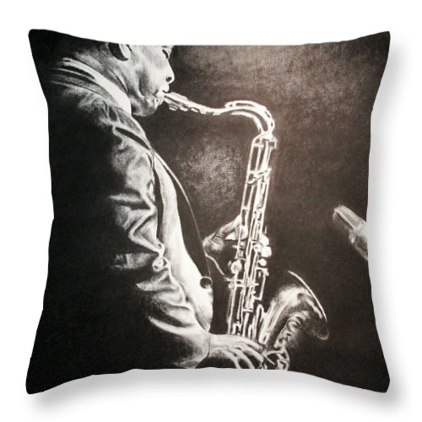 A Love Supreme Throw Pillow by Dashaan V Tran