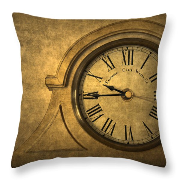 A Moment in Time Throw Pillow by Evelina Kremsdorf