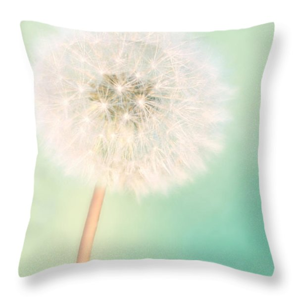 A Single Wish II Throw Pillow by Amy Tyler
