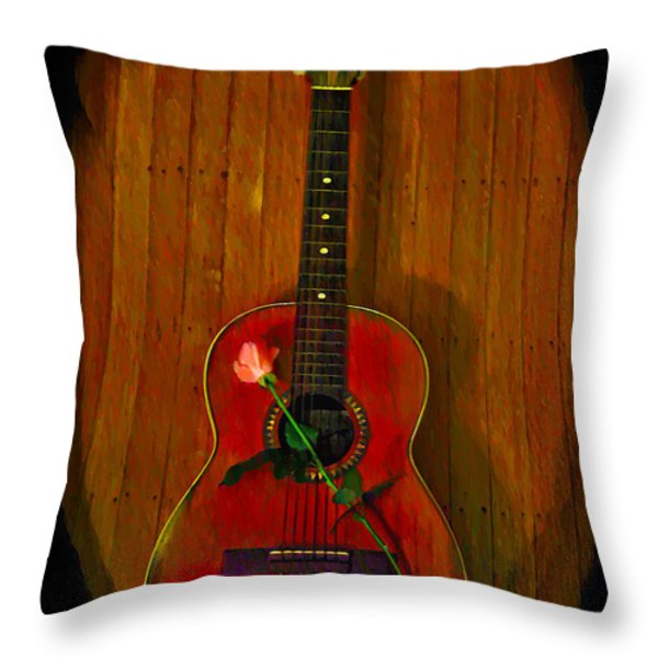A Song For My Love Throw Pillow by Bill Cannon