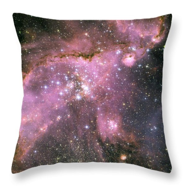 A Star-forming Region In The Small Throw Pillow by Stocktrek Images