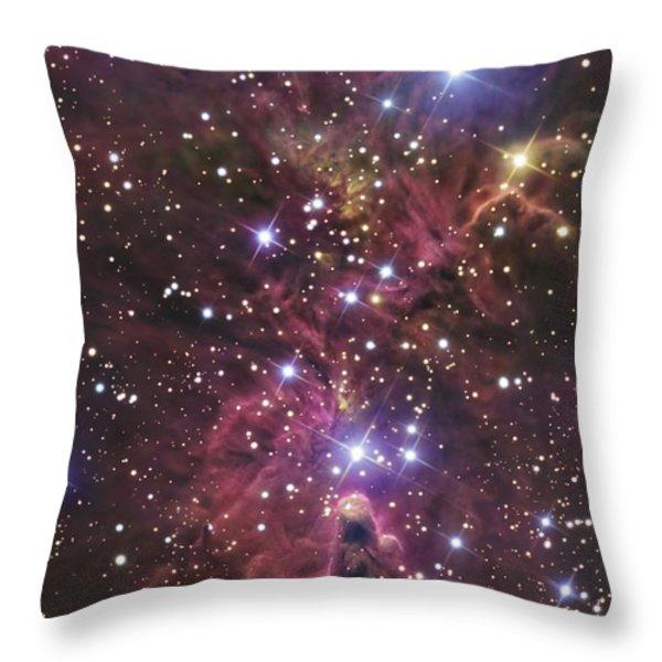 A Stellar Nursery Located Towards Throw Pillow by R Jay GaBany