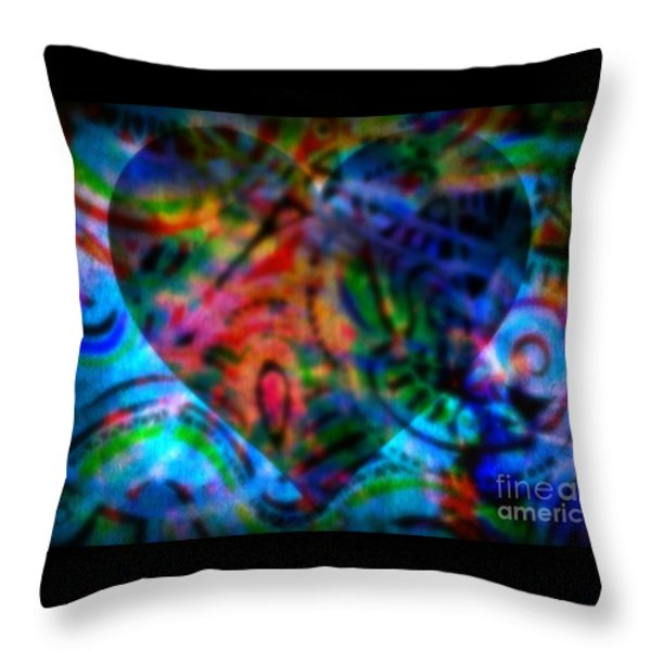 A Total Eclipse Of The Heart Throw Pillow by WBK