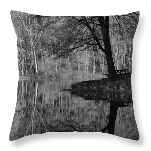 A Tree Of A Different Color Throw Pillow by Karol Livote