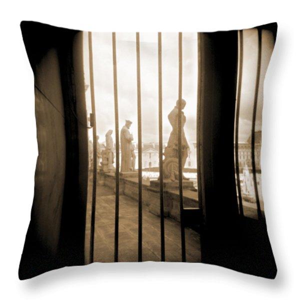 A Walk Through Paris 9 Throw Pillow by Mike McGlothlen