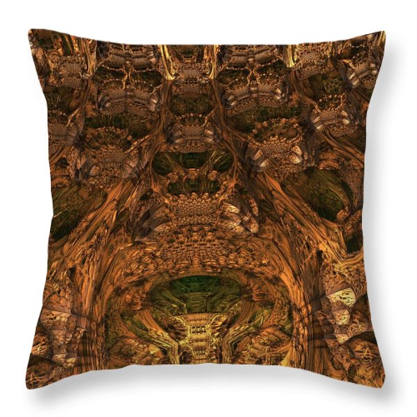 Abandon All Hope Ye Who Enter Here Throw Pillow by Lyle Hatch