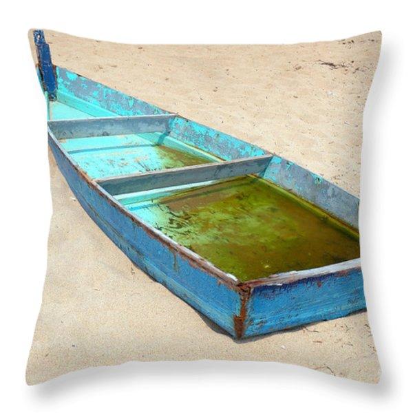 Abandoned Throw Pillow by Edward Sobuta