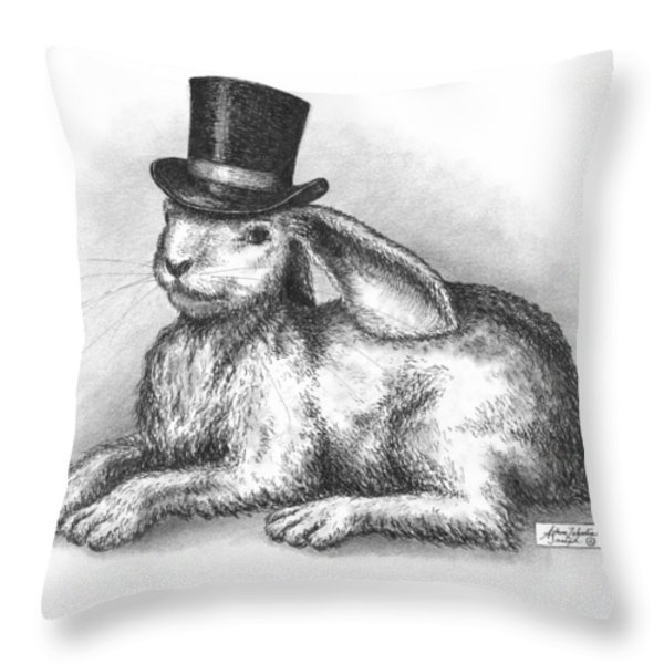 Abracadabra Throw Pillow by Adam Zebediah Joseph