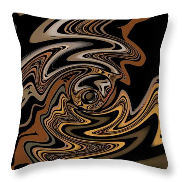 Abstract 9-11-09 Throw Pillow by David Lane
