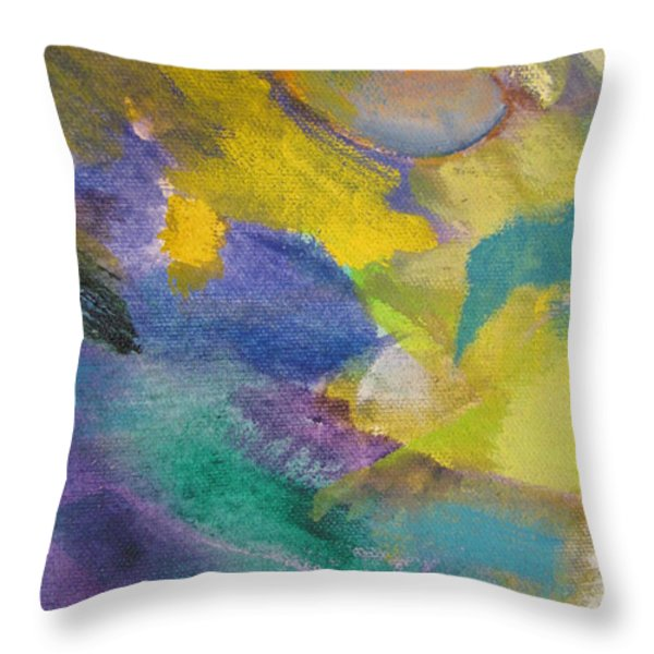 Abstract close up 13 Throw Pillow by Anita Burgermeister