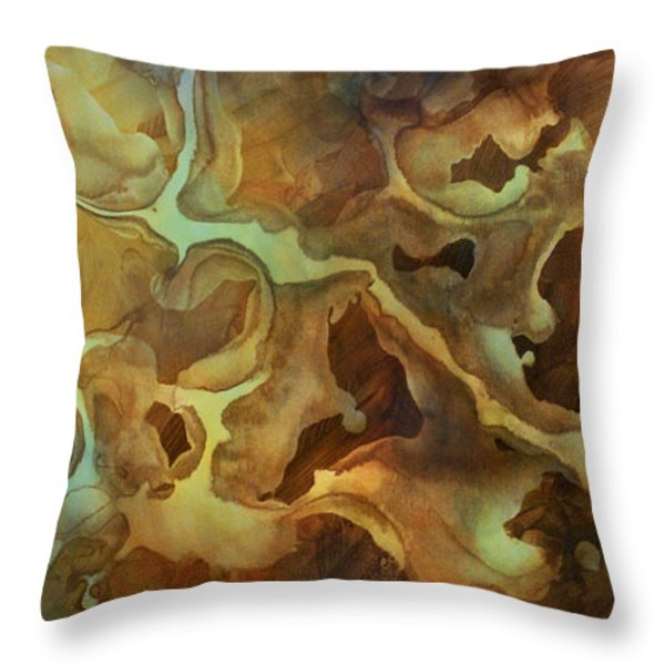 Abstract Design 29 Throw Pillow by Michael Lang