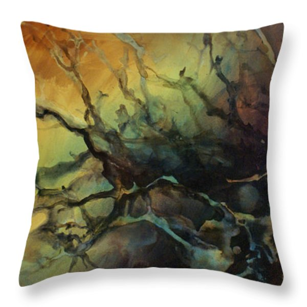 Abstract Design 85 Throw Pillow by Michael Lang