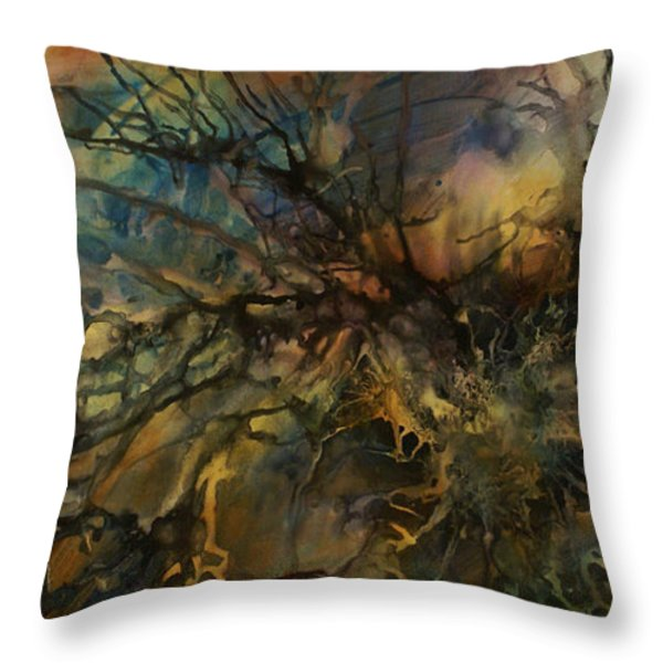 abstract design 88 Throw Pillow by Michael Lang