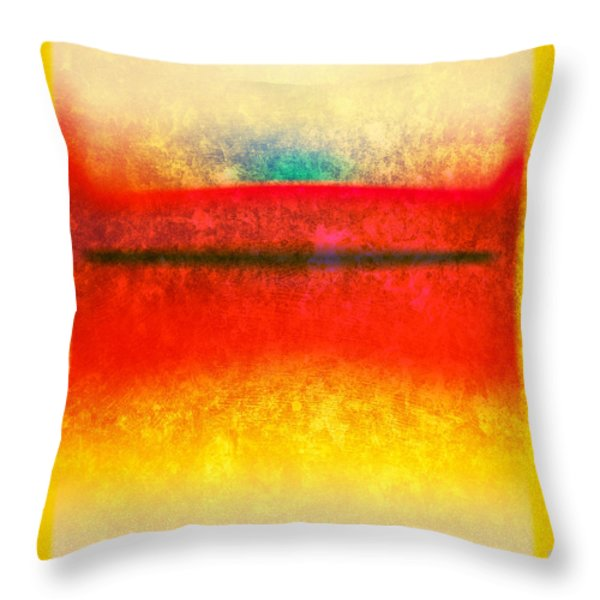 After Rothko 8 Throw Pillow by Gary Grayson