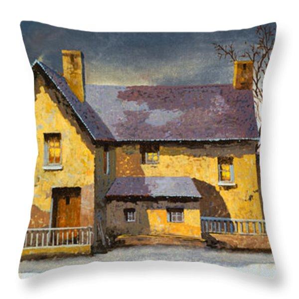 al mattino Throw Pillow by Guido Borelli