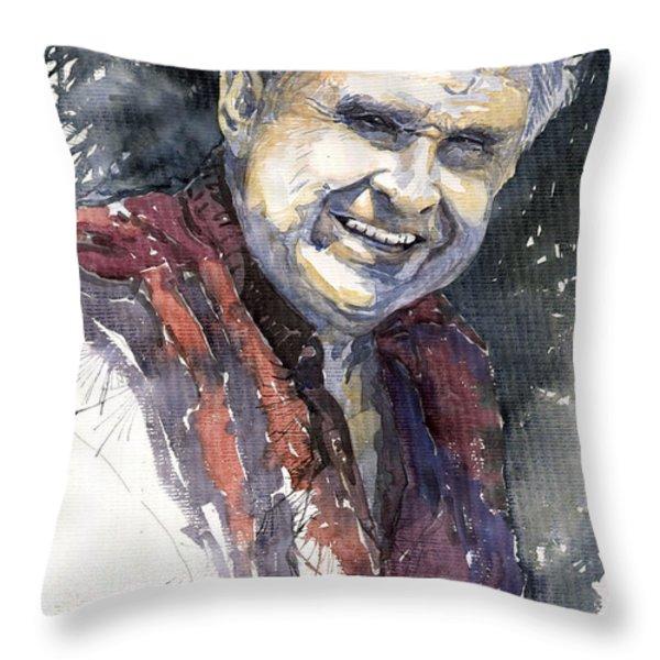 Alex Throw Pillow by Yuriy  Shevchuk