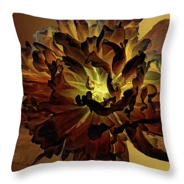 All For You 1 Throw Pillow by Angelina Vick