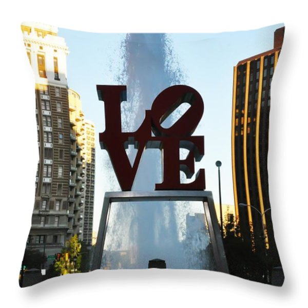 All You Need Is Love Throw Pillow by Bill Cannon