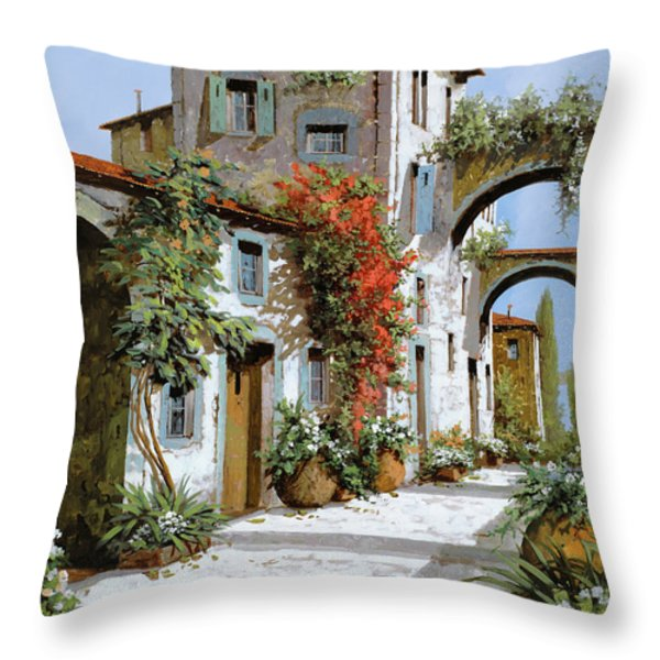 altri archi Throw Pillow by Guido Borelli
