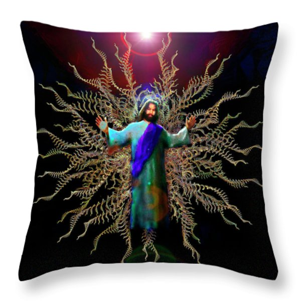 And On The Third Day... Throw Pillow by Michael Durst