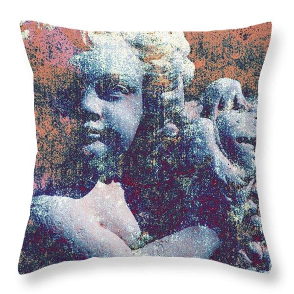 Angelina Throw Pillow by Susanne Van Hulst