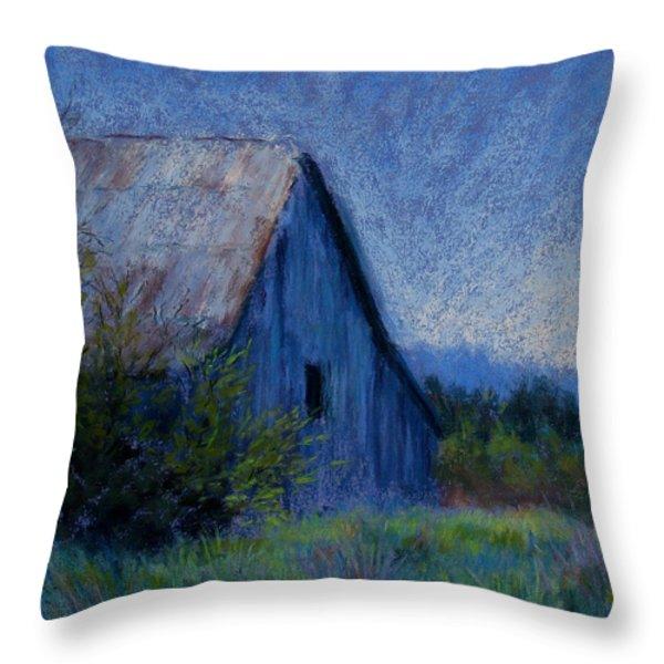 Appalachian Morning Throw Pillow by Susan Jenkins