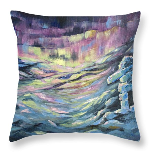 Arctic Experience Throw Pillow by Joanne Smoley