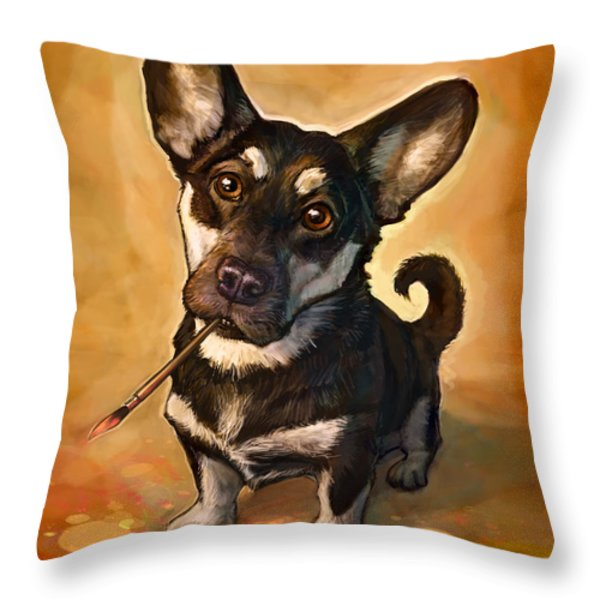 Arfist Throw Pillow by Sean ODaniels