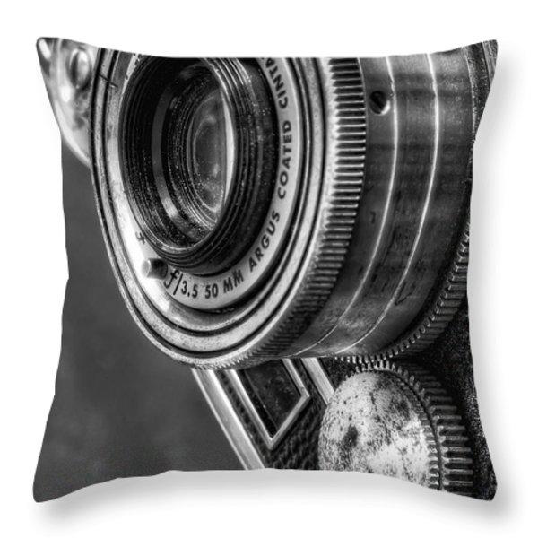 Argus C3 Throw Pillow by Scott Norris